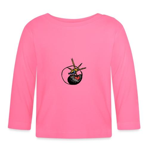 Mindfackt logo - Vauvan pitkähihainen paita