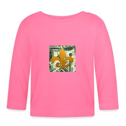 DonBehavior's fleur de lis - Baby Long Sleeve T-Shirt