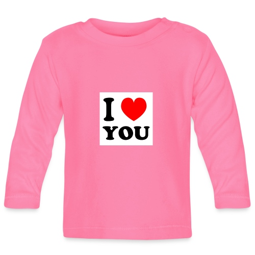 Sweater met i love you - T-shirt