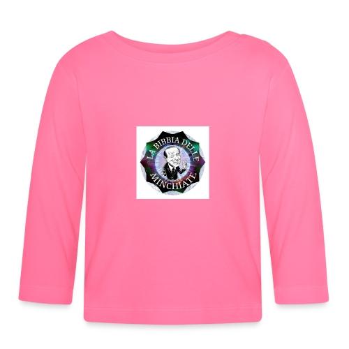 La Bibbia Delle minchiate logo - Maglietta a manica lunga per bambini