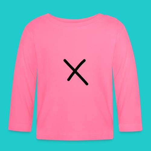 X - Baby Langarmshirt