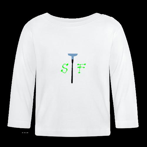 SpinnerFox logo - Långärmad T-shirt baby