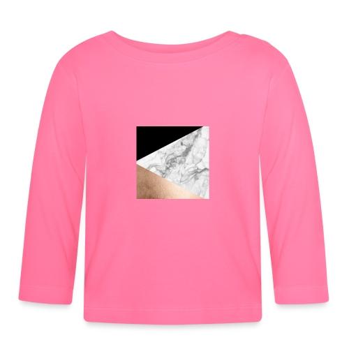 Marmor handyhülle - Baby Langarmshirt