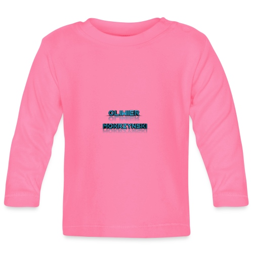 Oliwier Mokrzynski teddy - Baby Long Sleeve T-Shirt
