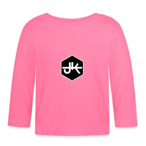 jk logo amk - Baby Langarmshirt