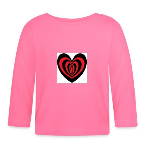 Hypno Herz - Baby Langarmshirt