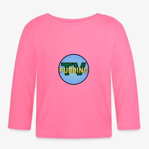 Pudding-TV Logo - Langarmet baby-T-skjorte