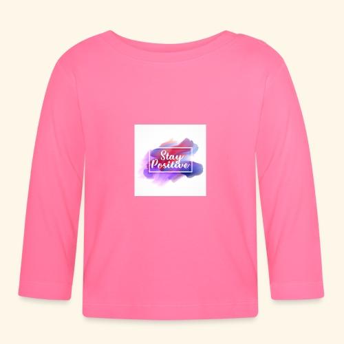 Stay Positive - Maglietta a manica lunga per bambini