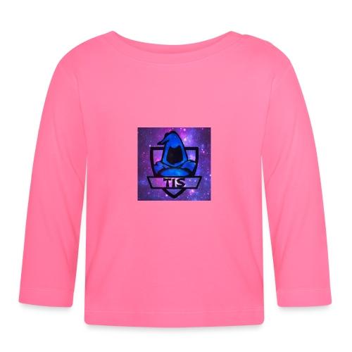 Tis med rymden - Långärmad T-shirt baby
