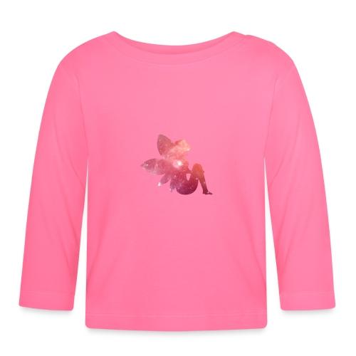 Pink fairy - Langarmet baby-T-skjorte