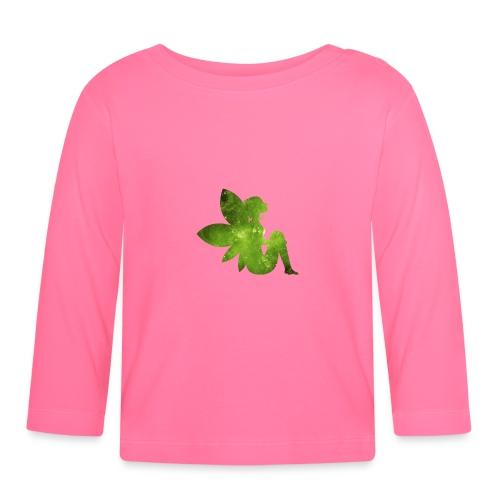 Green fairy - Langarmet baby-T-skjorte