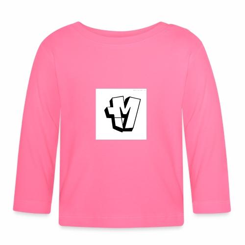 graffiti alphabet m - Baby Long Sleeve T-Shirt