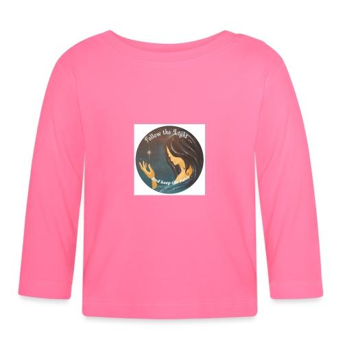 Follow the light, d'après le peinture Améthyste - T-shirt manches longues Bébé