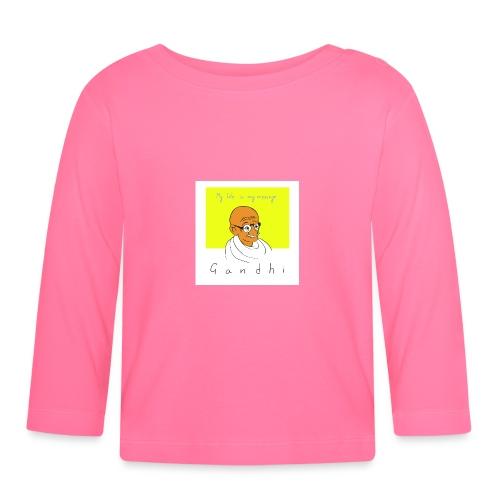 Gandhi - Baby Langarmshirt