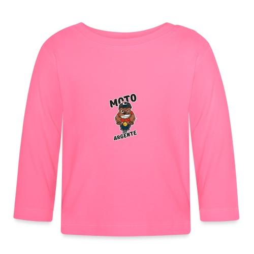 moto argente - T-shirt manches longues Bébé