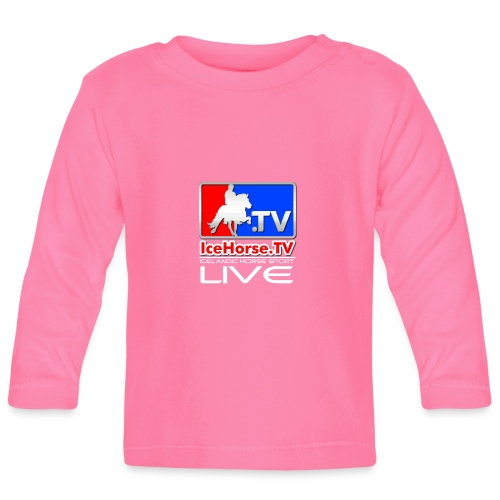 IceHorse logo - Baby Long Sleeve T-Shirt