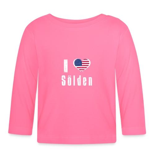 I love Sölden (USA) - Baby Langarmshirt