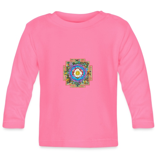 buddhist mandala - Baby Long Sleeve T-Shirt