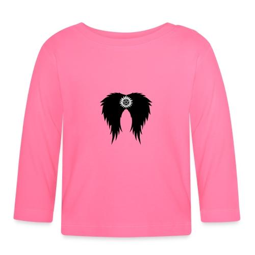 Supernatural wings (vector) Hoodies & Sweatshirts - Baby Long Sleeve T-Shirt