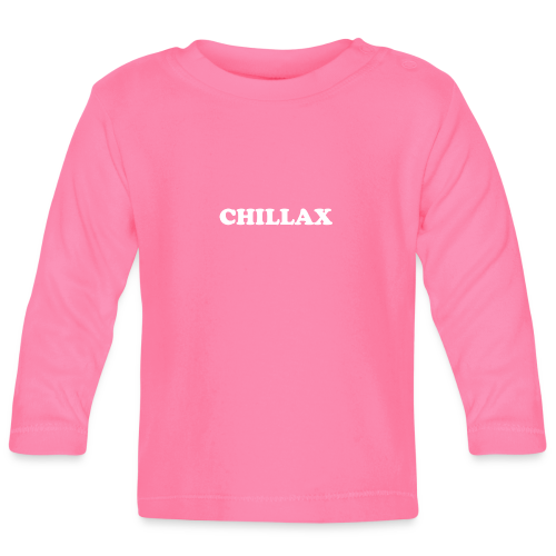 chill Collection - Langarmet baby-T-skjorte