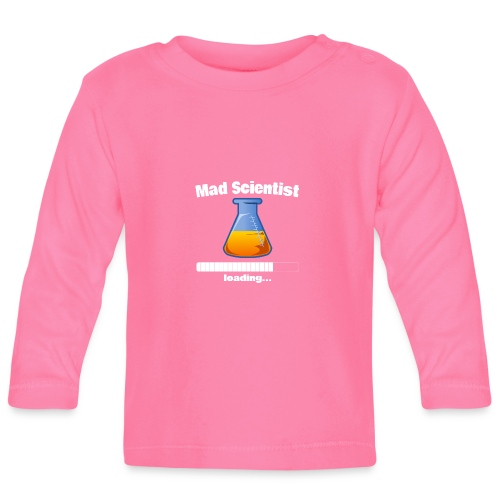 Mad Scientist loading... Baby Motiv - Baby Langarmshirt