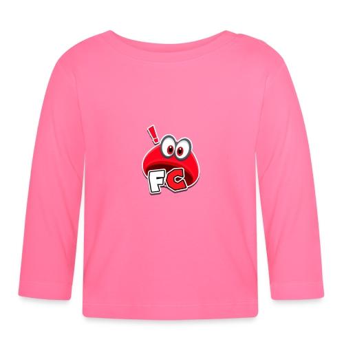 Flying Cappys Logo! - Baby Langarmshirt