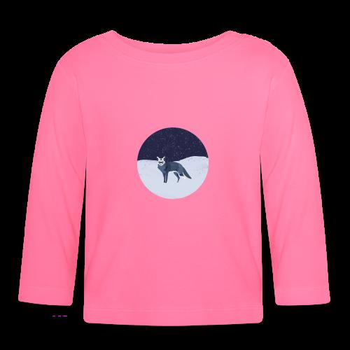 Blue fox - Vauvan pitkähihainen paita