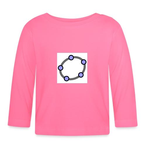 GeoGebra Ellipse - Baby Long Sleeve T-Shirt