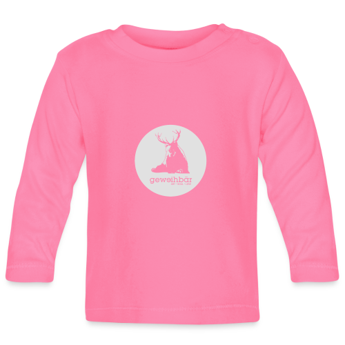 geweihbär - Baby Langarmshirt