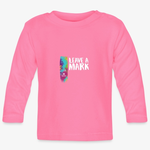 Leave a mark - Baby Long Sleeve T-Shirt