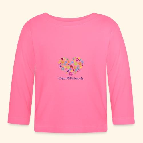 CUOREZAMPE - Maglietta a manica lunga per bambini