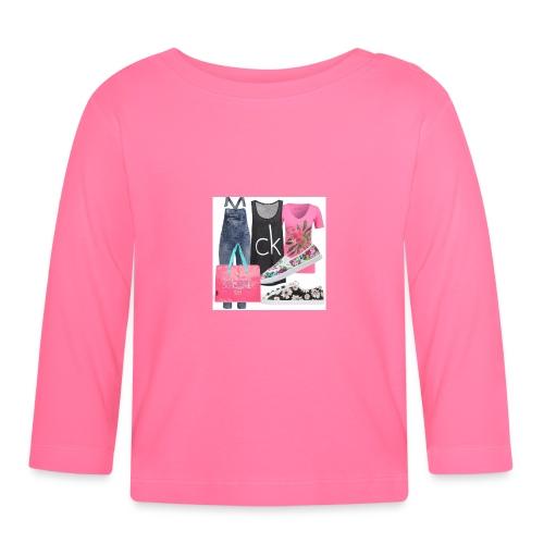 outfit pace e amoreio amo il colore - Maglietta a manica lunga per bambini