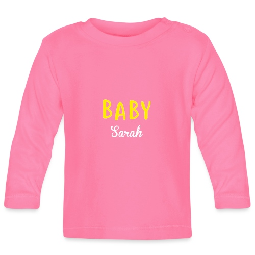 baby sarah black design - Baby Long Sleeve T-Shirt