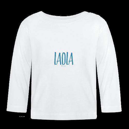 ola - Camiseta manga larga bebé