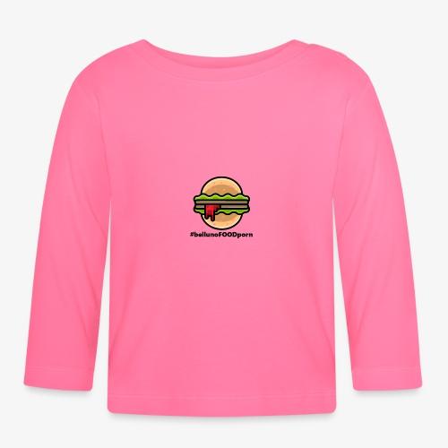 belluno FOOD burger - Maglietta a manica lunga per bambini