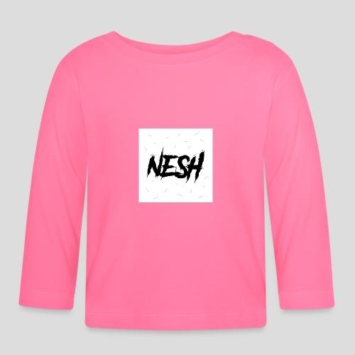 Nesh Logo - Baby Langarmshirt