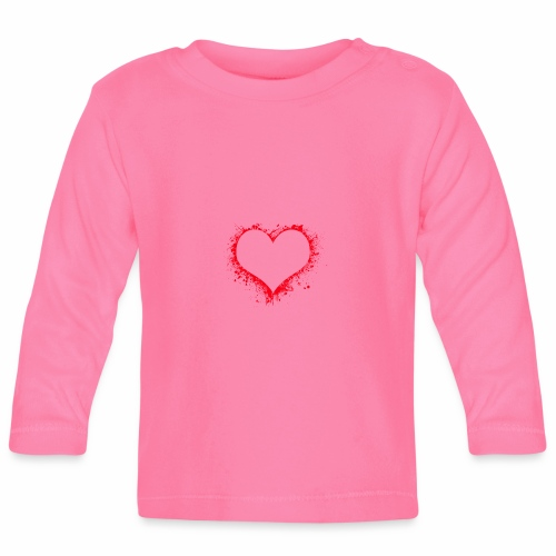 Love you - Baby Langarmshirt
