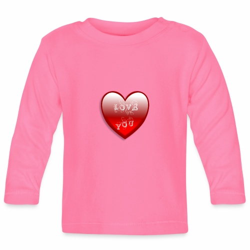 Love You - Baby Langarmshirt