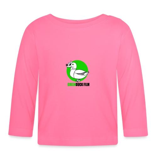 Greenduck Film Ghost Duck Logo - Langærmet babyshirt