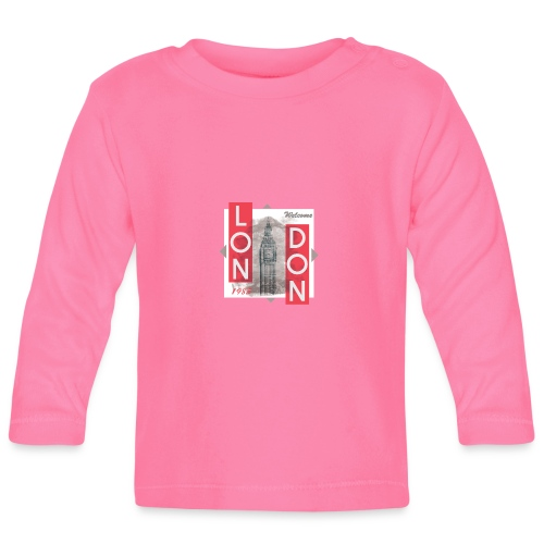 Welcome London - Baby Long Sleeve T-Shirt