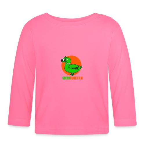 Greenduck Film Orange Sun Logo - Langærmet babyshirt