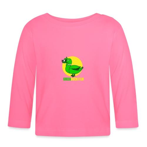 Greenduck Film In the Sun Logo - Langærmet babyshirt