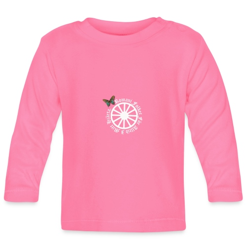 LennyhjulRomaniFolketivitfjerli - Långärmad T-shirt baby