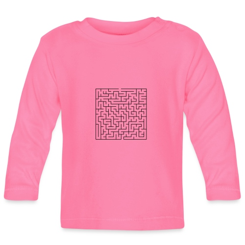 SQUARE MAZE - Baby Long Sleeve T-Shirt