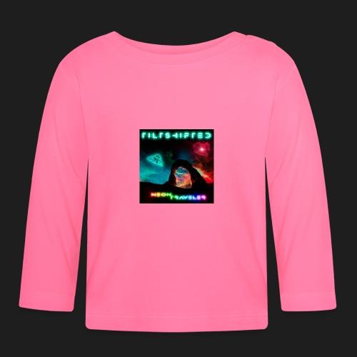 TiltShifted - Neon Traveler - Vauvan pitkähihainen paita