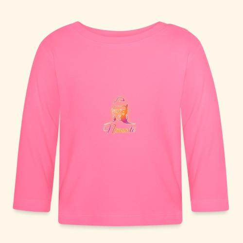 Buddha - Namasté - Baby Langarmshirt