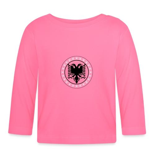 Schweiz Albanien - Baby Langarmshirt