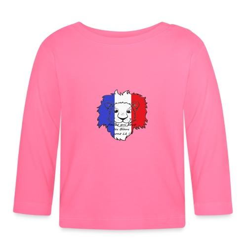 Lion supporter France - T-shirt manches longues Bébé
