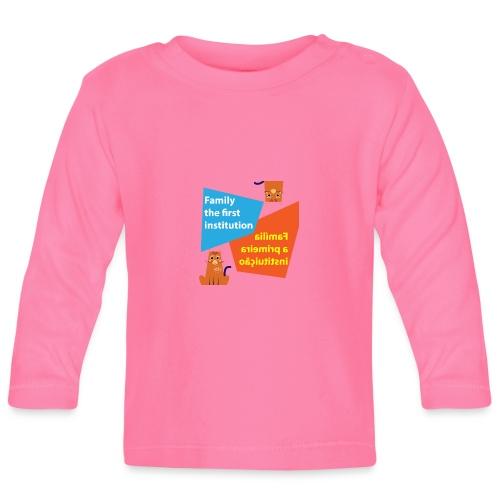 Duna Família - Langarmet baby-T-skjorte