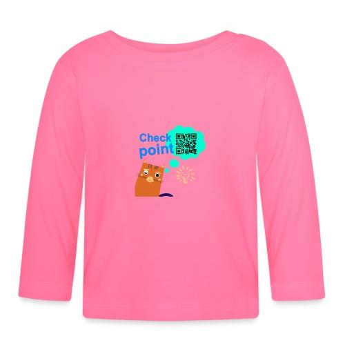 Duna Checkpoint - Langarmet baby-T-skjorte